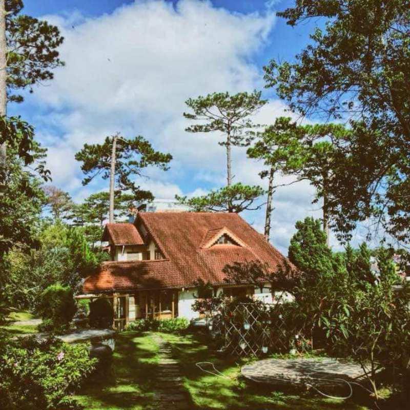 Villa Đà Lạt lãng mạn mang phong cách Pháp cổ