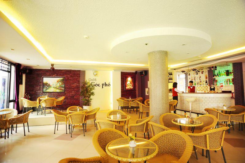 Không gian bên trong khách sạn Cẩm Đô ở Đà Lạt