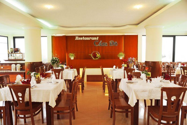 Nhà hàng của khách sạn Cẩm Đô tại Đà Lạt