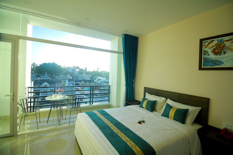 Phòng đơn Eco Green Hotel Đà Lạt
