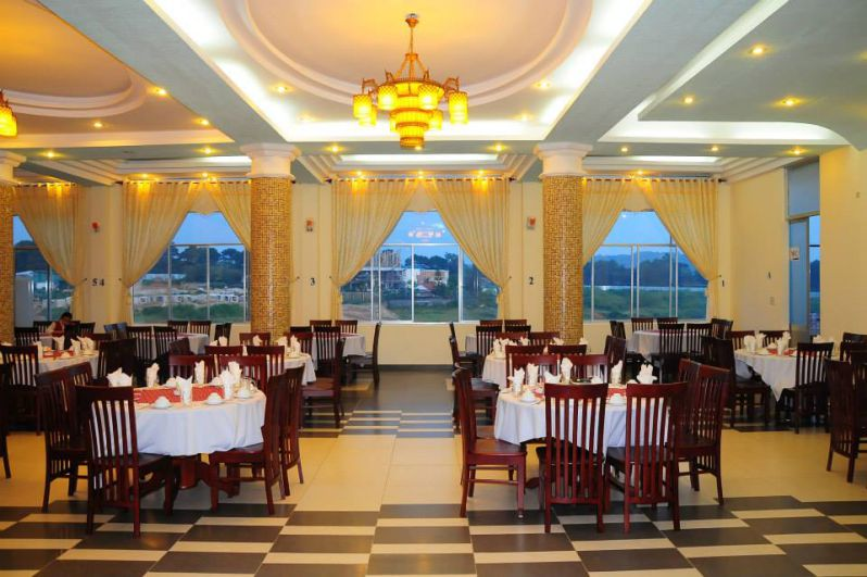 Nhà hàng ở Kim Tâm An Hotel ở Đà Lạt