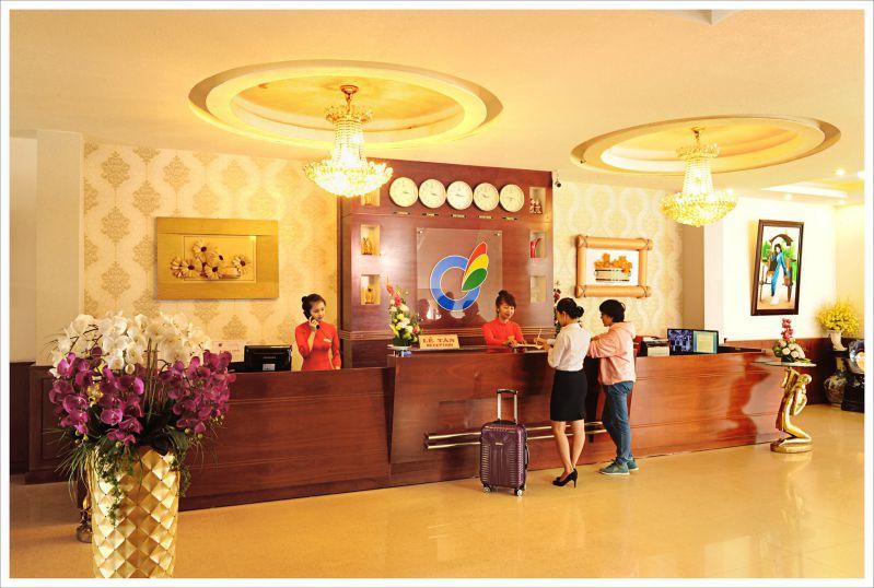 Không gian khách sạn Mai Vàng Đà Lạt