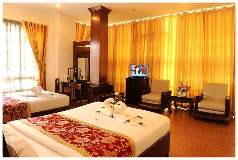 Phòng đôi của khách sạn Mai Vàng ở Đà Lạt
