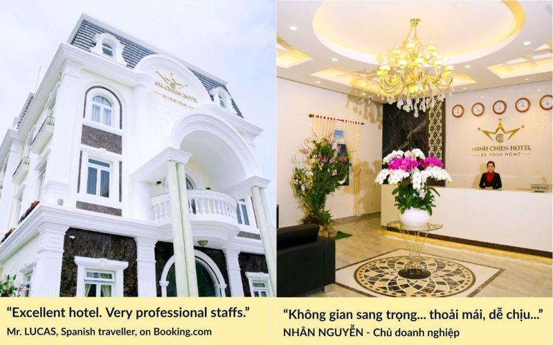 khách hàng về Minh Chiến Hotel