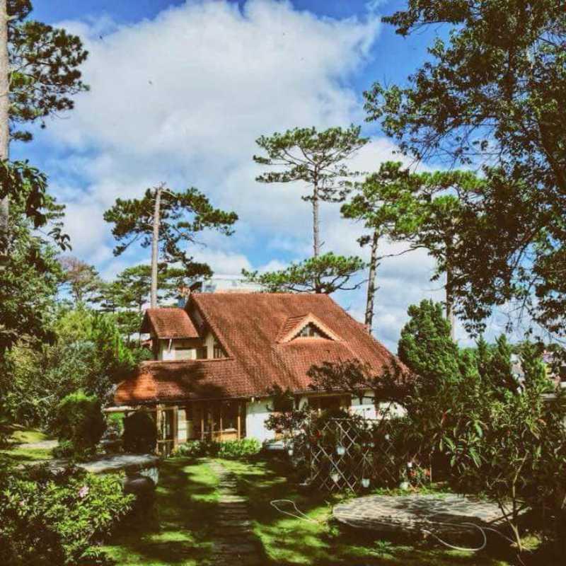 villa Pháp cổ cho thuê ở Đà Lạt