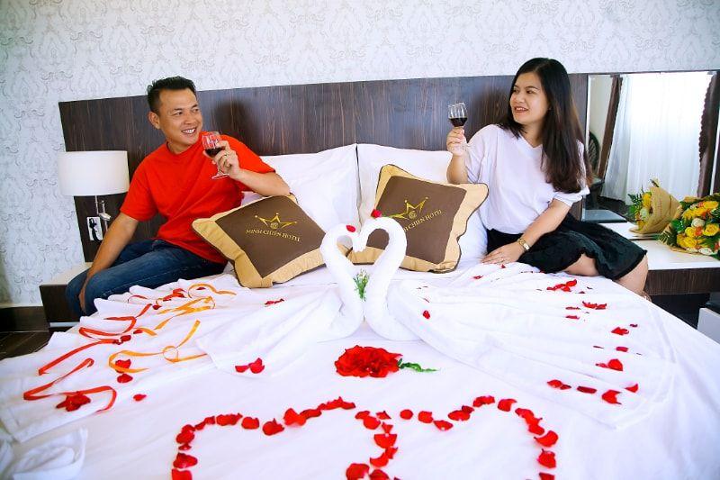 Phòng ở Minh Chiến Hotel