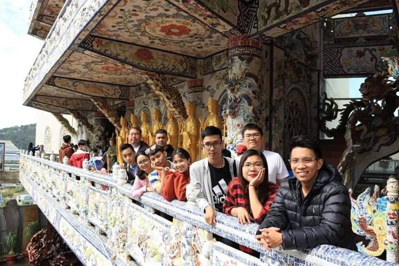 Tham quan du lịch Chùa Linh Phước