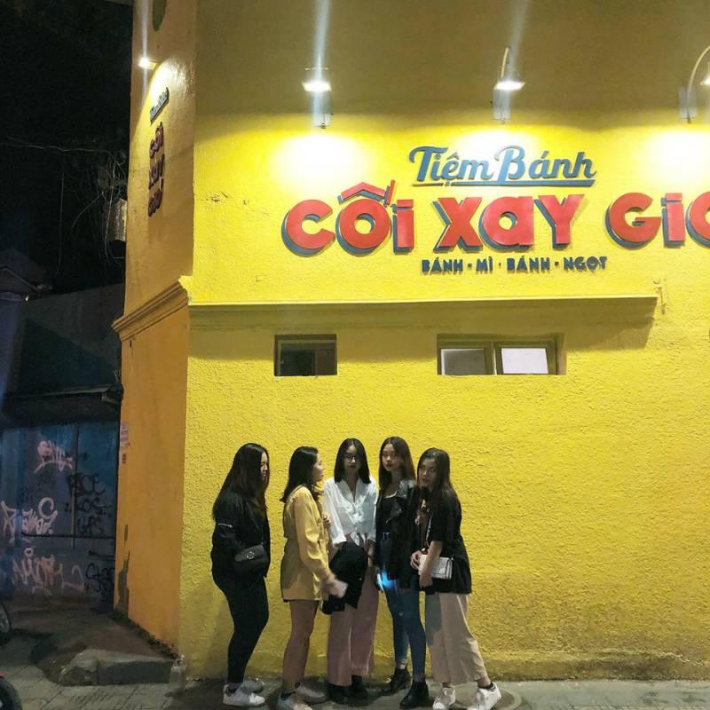 Tiệm bánh mì Cối Xay Gió ở Đà Lạt