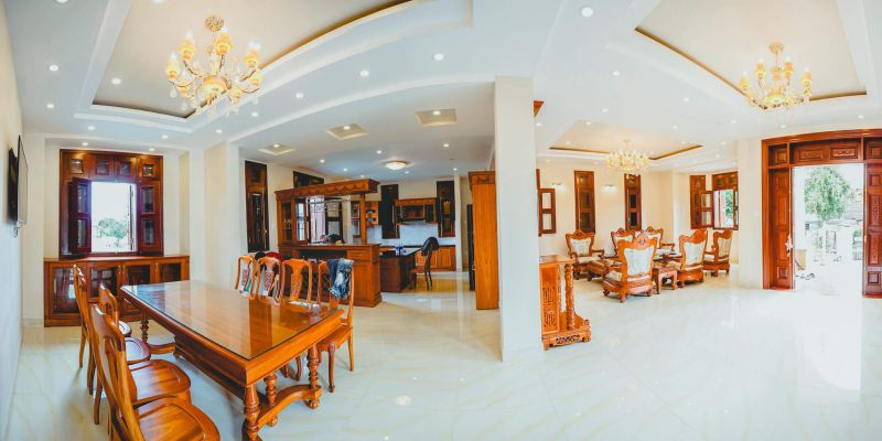 Nội thất bên trong Biệt thự Yersin ở Đà Lạt