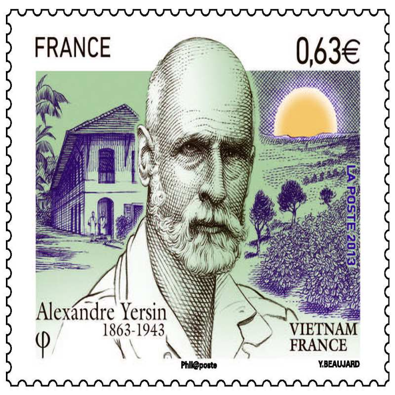 Bác sỹ Alexandre Yersin