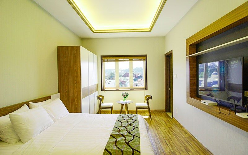Căn phòng trong Biệt thự Lê Hoàng
