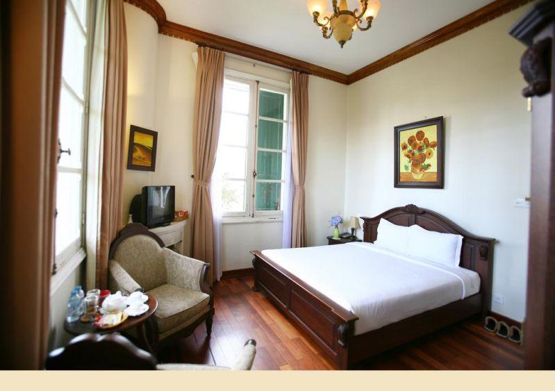 Một phòng nghỉ ở Dalat Cadasa Resort Đà Lạt