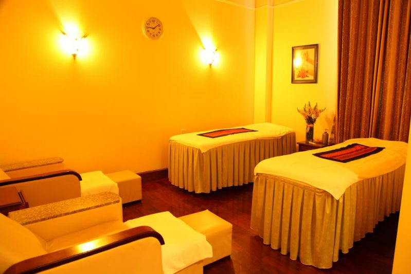 Phòng massage ở khách sạn Du Parc tại Đà Lạt