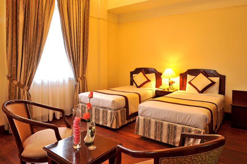Phòng nghỉ tại khách sạn Du Parc tại Đà Lạt