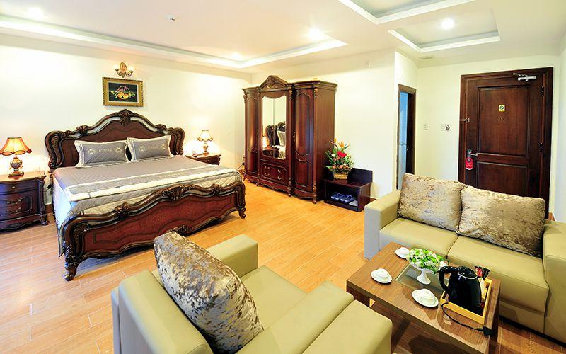 Phòng trong Khách sạn Marguerite Đà Lạt