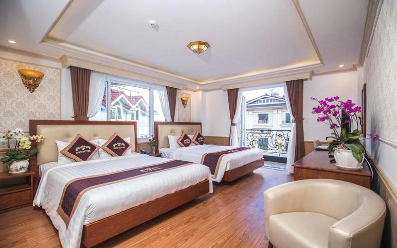 Phòng trong Khách sạn Roy Dala Đà Lạt