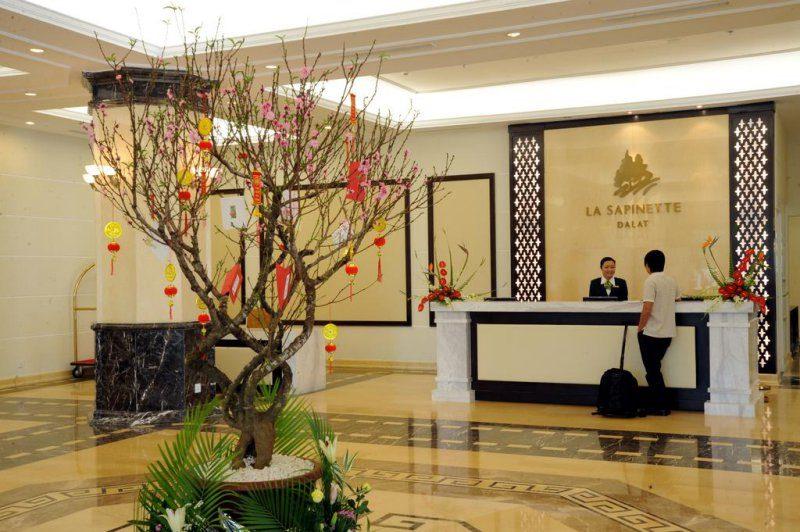 Không gian bên trong Khách sạn La Sapinette Hotel Đà Lạt