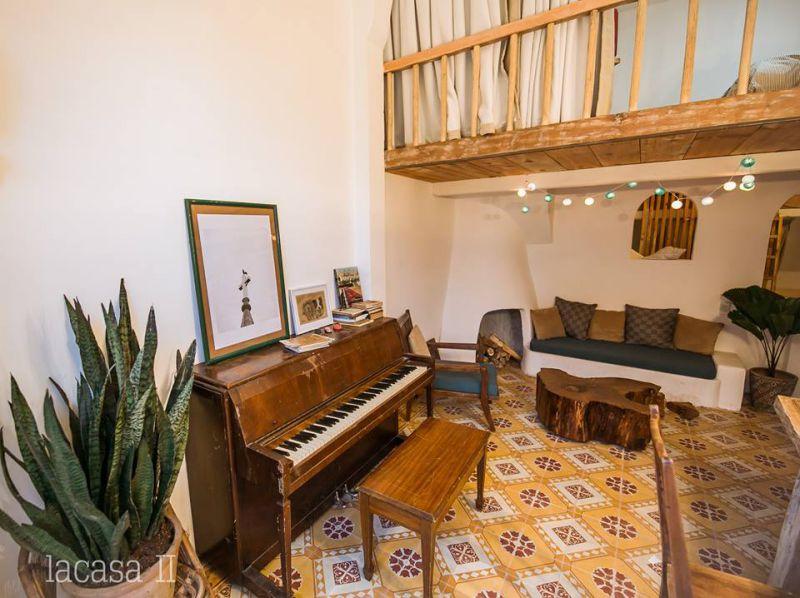 Phòng khách của Lacasa 2 homestay ở Đà Lạt