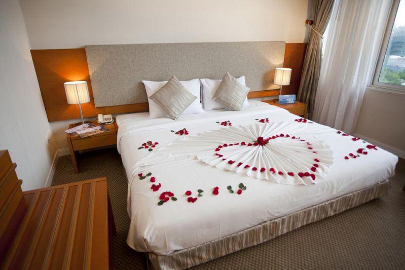 Phòng nghỉ ở tại khách sạn Mường Thanh Đà Lạt