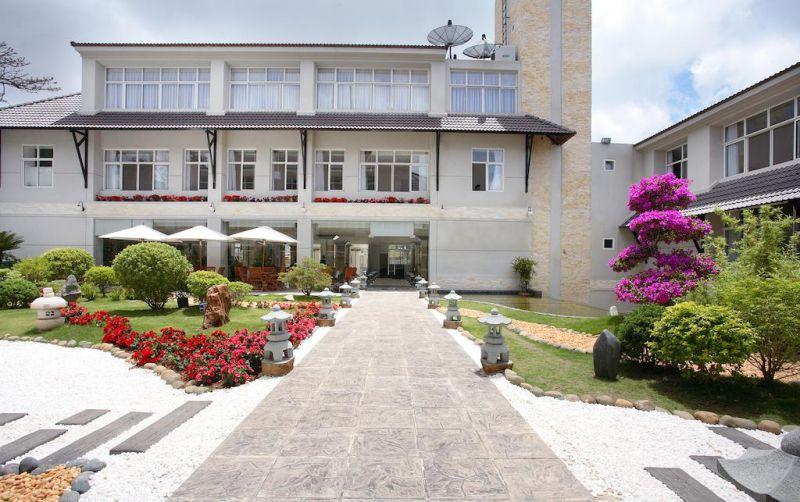 Không gian khách sạn Mường Thanh Đà Lạt