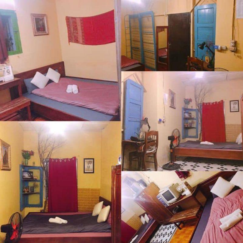 Không gian bên trong Nhà của Bão - homestay Đà Lạt gần chợ đêm