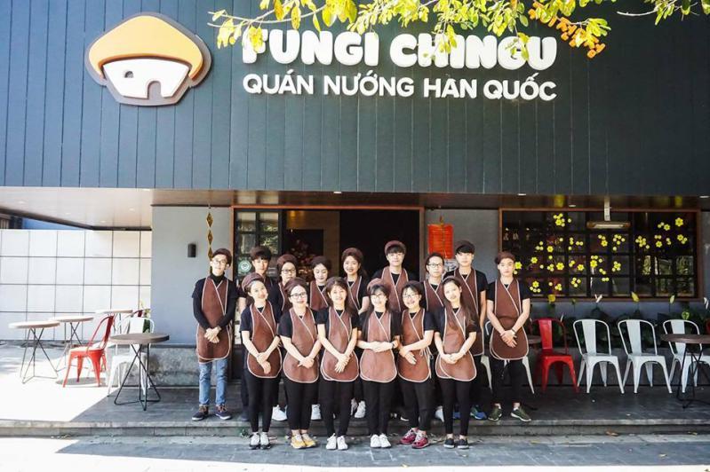 Quán nhậu Hàn Quốc Fungi Chingu ở Đà Lạt