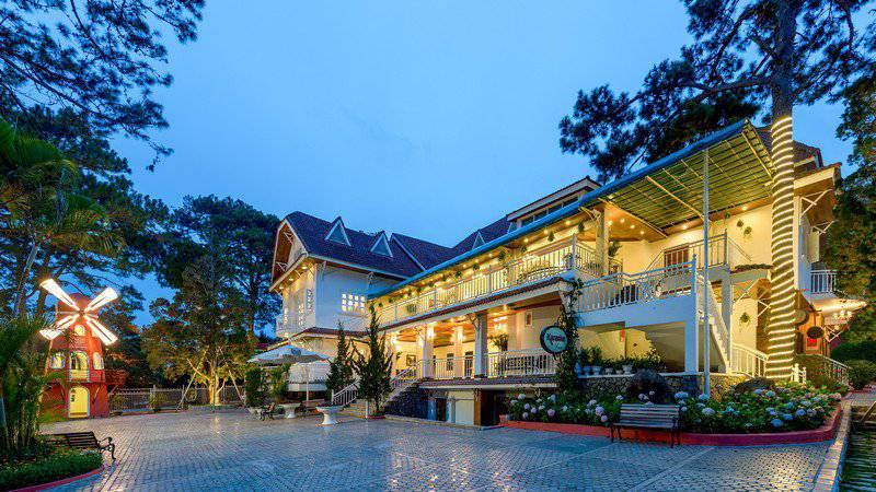 Khu nghỉ dưỡng Monet Garden Villa Resort ở Đà Lạt