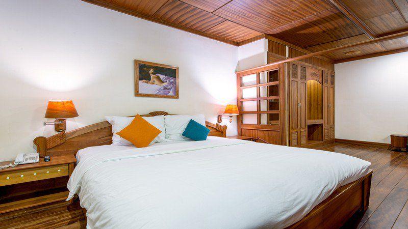 Một phòng nghỉ ở Monet Garden Villa Resort Đà Lạt