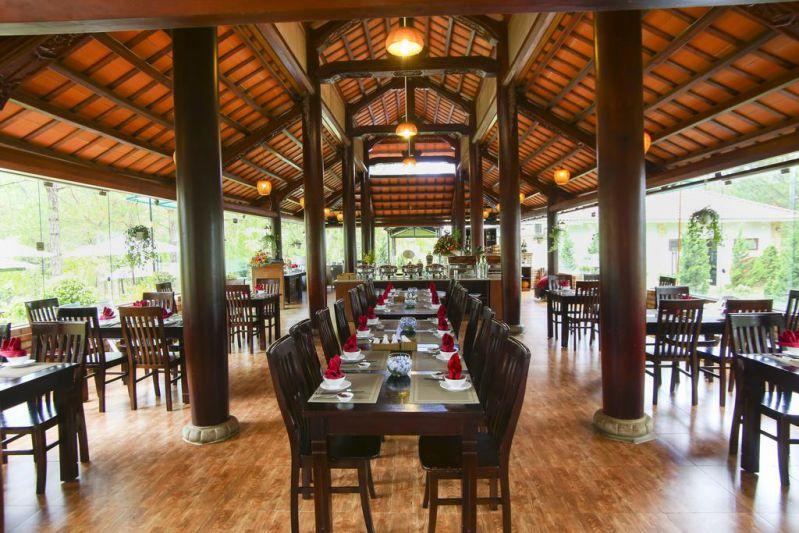 Nhà hàng ở khu nghỉ dưỡng SAM Tuyền Lâm Resort Đà Lạt