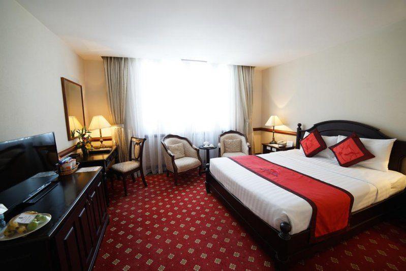 Một phòng nghỉ ở bên trong Khách sạn Sammy Đà Lạt