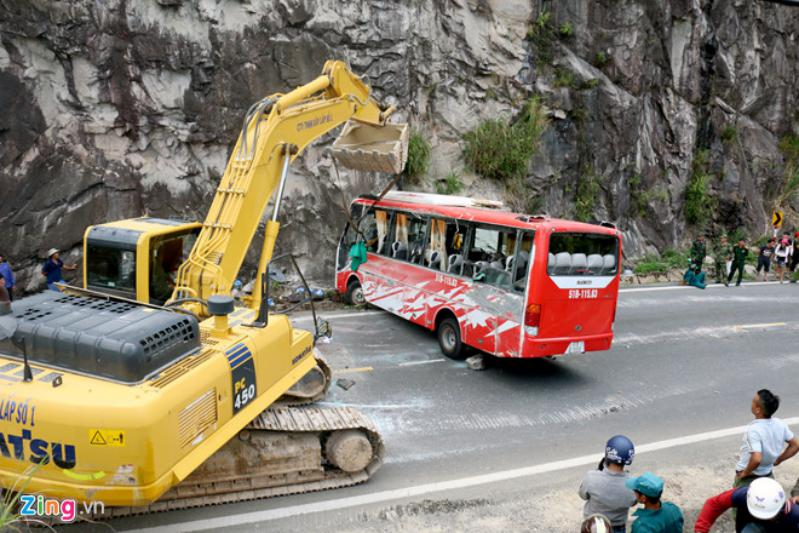 Hình ảnh tai nạn giao thông ở đèo Khánh Lê Đà Lạt