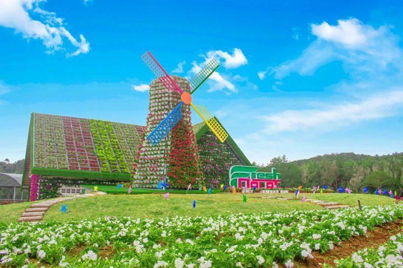 Fresh Garden Đà Lat địa điểm du lịch miễn phí