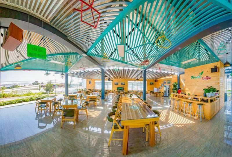 Hình ảnh khu vực nhà hàng tại Fresh Garden Đà Lạt