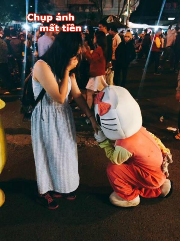 Mánh khóe lấy tiền khách khi chụp ảnh chung ở Đà Lạt