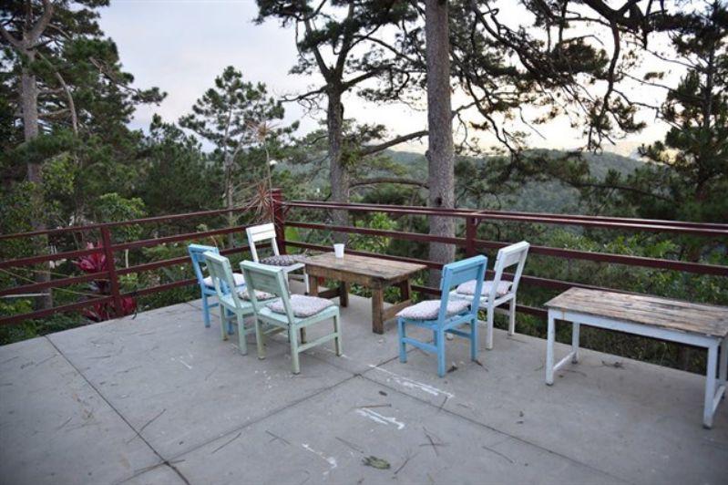 Không gian rộng rãi thích hợp nghỉ dưỡng ở Moonrise Garden homestay Đà Lạt