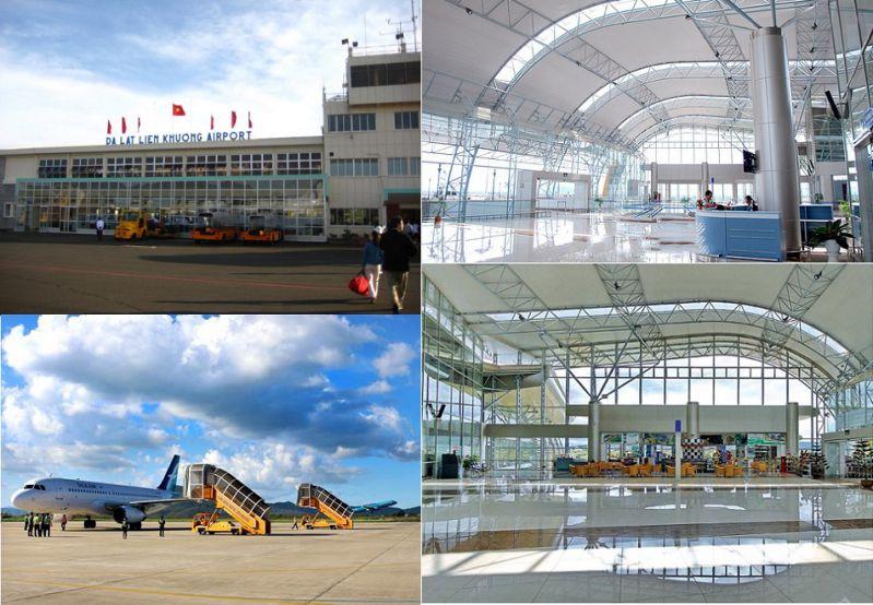 Nhà ga sân bay Liên Khương ở Đà Lạt