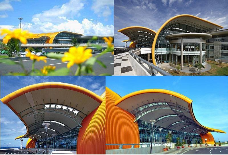 Sân bay Liên Khương Đà Lạt mang dáng dấp một bông hoa Dã Quỳ
