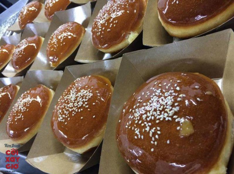 Bánh ngọt ở tiệm bánh mì Cối Xay Gió Đà Lạt