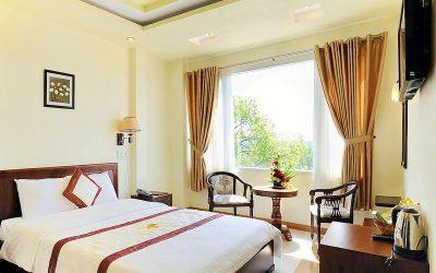 Phòng nghỉ trong khách sạn Thi Thảo Gardenia Đà Lạt