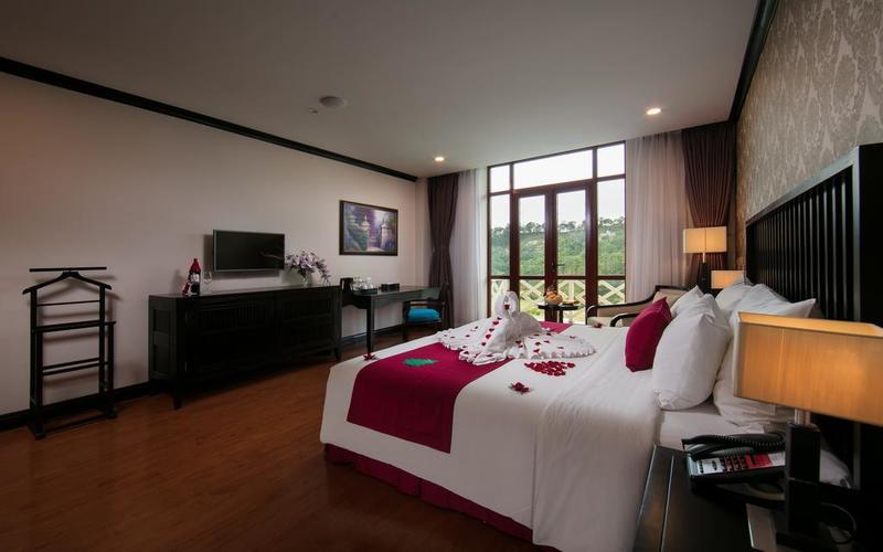 Phòng bên trong Resort Swiss-bel Đà Lạt