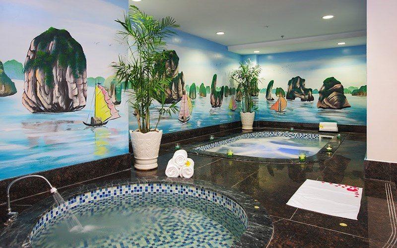 Spa trong Resort Swiss-bel Đà Lạt