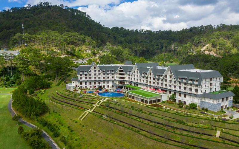 Toàn cảnh Resort Swiss-bel Đà Lạt