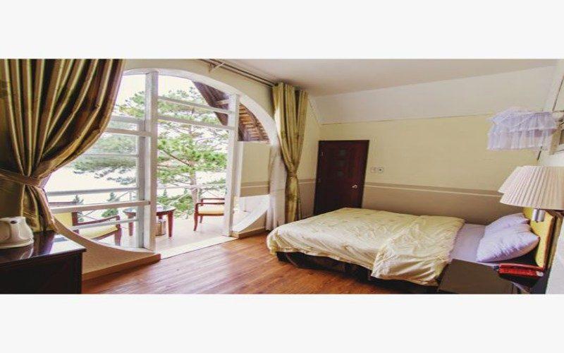 Phòng trong khách sạn Công Đoàn Đà Lạt