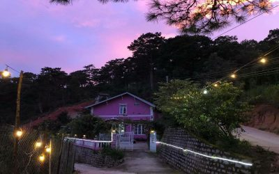 Toàn cảnh villa Hồng Phai Đà Lạt