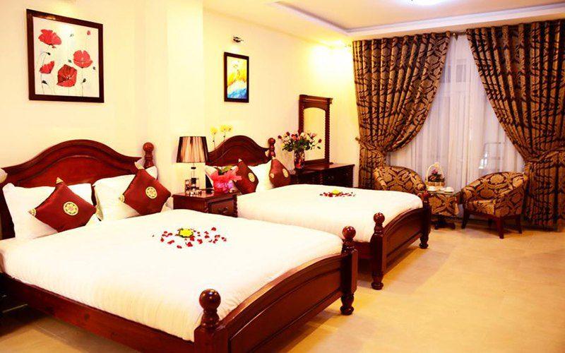 Phòng trong Khách sạn Sen Vàng Đà Lạt