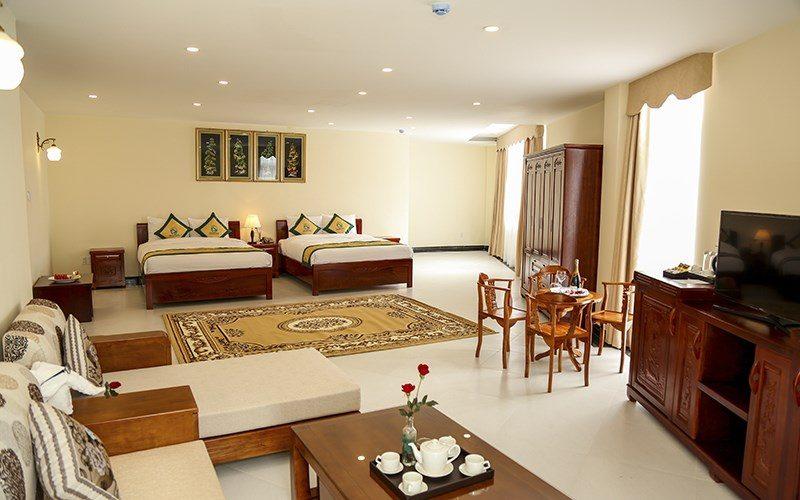 Phòng trong Thủy Hoàng Nguyên hotel – resort & spa