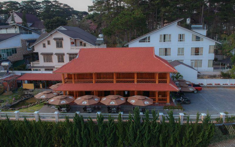 Toàn cảnh cafe Tiên Dung Đà Lạt