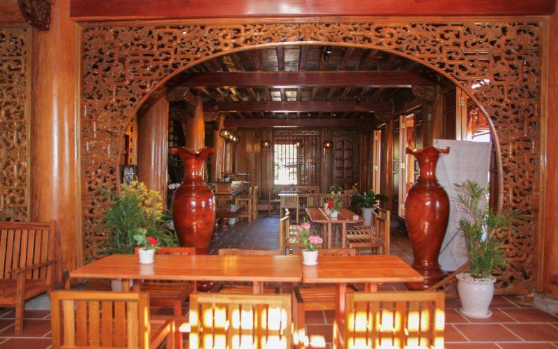 Cafe Tiên Dung Đà Lạt ngôi nhà bằng gỗ Đinh Hương
