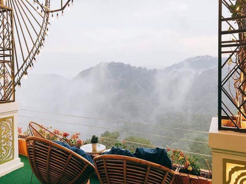 săn mây tại quán Horizon coffee Đà Lạt