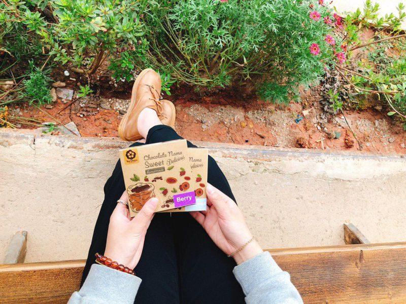 Bao bì cực dễ thương của những hộp chocolate handmade